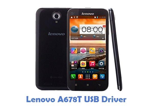 Lenovo A678T USB Driver