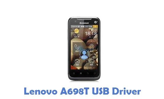 Lenovo A698T USB Driver