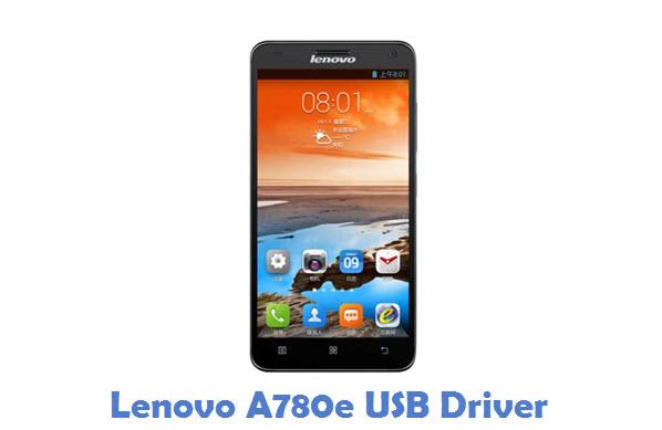 Lenovo A780e USB Driver