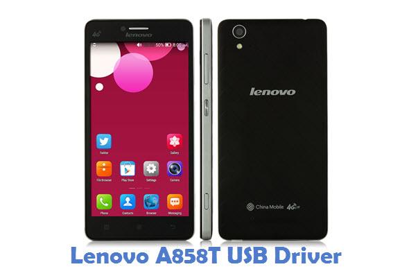Lenovo A858T USB Driver