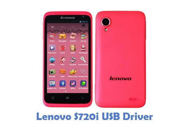 Lenovo S720i USB Driver
