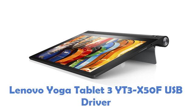Lenovo Yoga Tablet 3 YT3-X50F USB Driver