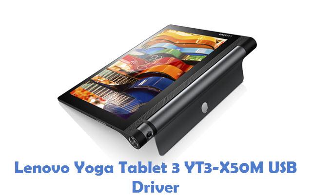 Lenovo Yoga Tablet 3 YT3-X50M USB Driver