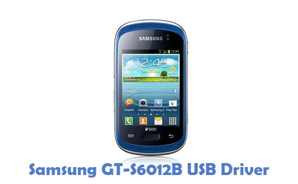 Samsung GT-S6012B USB Driver
