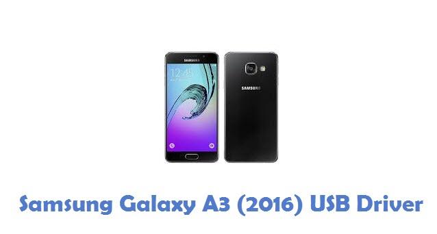 Samsung Galaxy A3 (2016) USB Driver