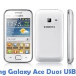 Samsung Galaxy Ace Duos USB Driver