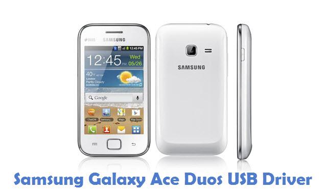 Samsung Galaxy Ace Duos USB Driver