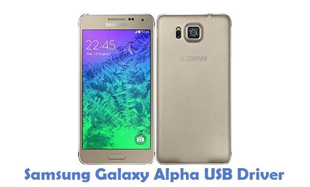 Samsung Galaxy Alpha USB Driver