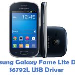 Samsung Galaxy Fame Lite Duos S6792L USB Driver