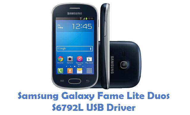 Samsung Galaxy Fame Lite Duos S6792L USB Driver