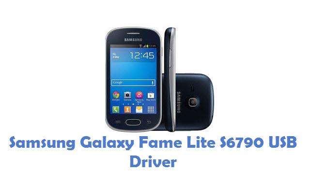 Samsung Galaxy Fame Lite S6790 USB Driver