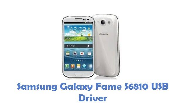 Samsung Galaxy Fame S6810 USB Driver