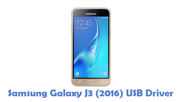 Samsung Galaxy J3 (2016) USB Driver