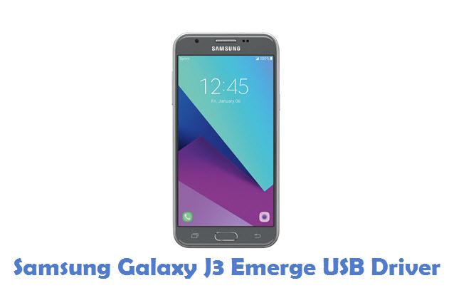 Samsung Galaxy J3 Emerge USB Driver