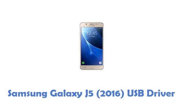 Samsung Galaxy J5 (2016) USB Driver