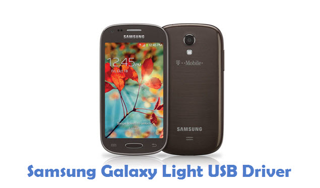 Samsung Galaxy Light USB Driver