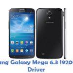 Samsung Galaxy Mega 6.3 I9200 USB Driver