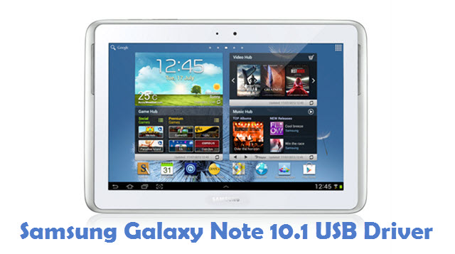 Samsung Galaxy Note 10.1 USB Driver