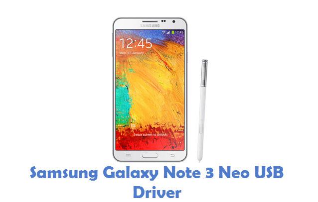 Samsung Galaxy Note 3 Neo USB Driver