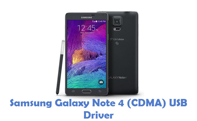 Samsung Galaxy Note 4 (CDMA) USB Driver
