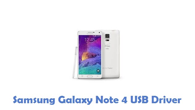 Samsung Galaxy Note 4 USB Driver