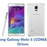 Samsung Galaxy Note 5 (CDMA) USB Driver