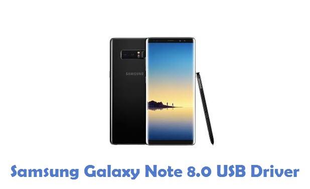 Samsung Galaxy Note 8.0 USB Driver