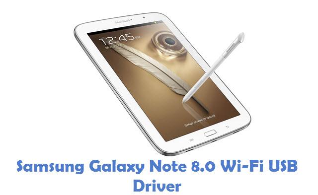 Samsung Galaxy Note 8.0 Wi-Fi USB Driver
