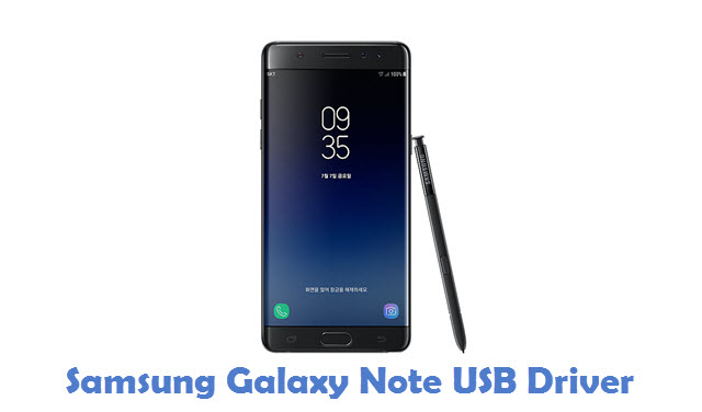 Samsung Galaxy Note USB Driver