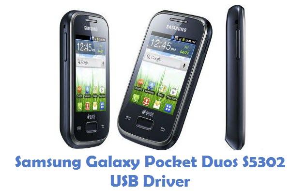 Samsung Galaxy Pocket Duos S5302 USB Driver