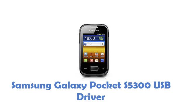 Samsung Galaxy Pocket S5300 USB Driver