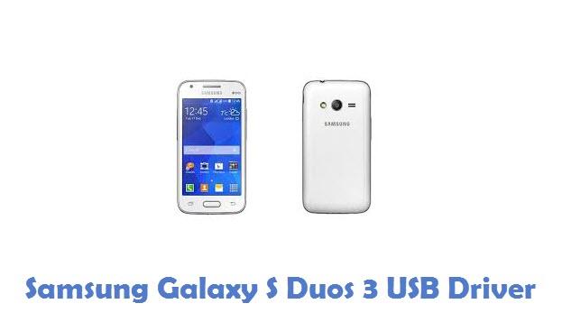 Samsung Galaxy S Duos 3 USB Driver