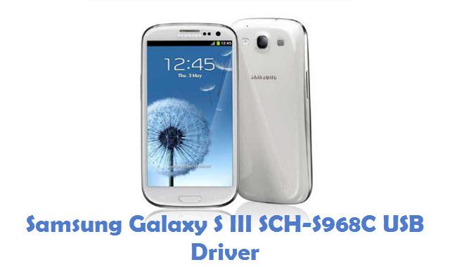 Samsung Galaxy S III SCH-S968C USB Driver