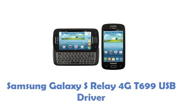 Samsung Galaxy S Relay 4G T699 USB Driver