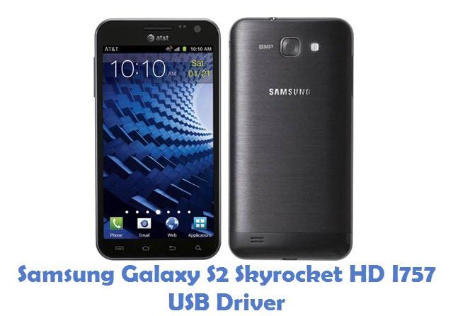 Samsung Galaxy S2 Skyrocket HD I757 USB Driver