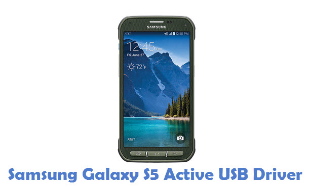 Samsung Galaxy S5 Active USB Driver