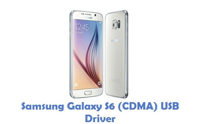 Samsung Galaxy S6 (CDMA) USB Driver