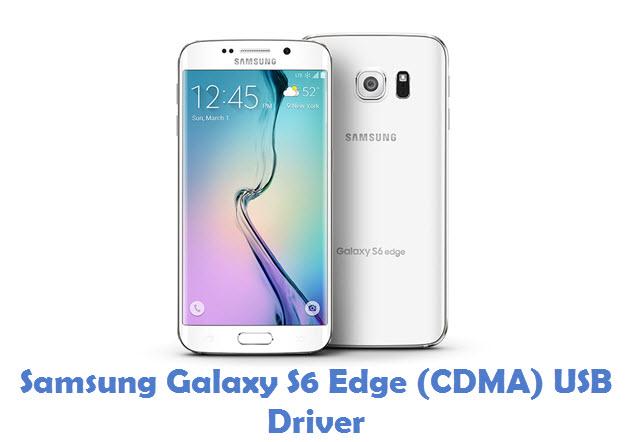 Samsung Galaxy S6 Edge (CDMA) USB Driver