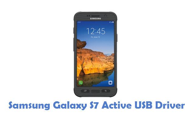 Samsung Galaxy S7 Active USB Driver