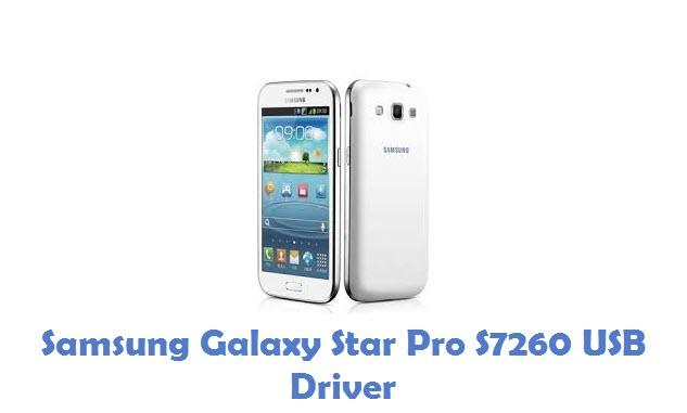 Samsung Galaxy Star Pro S7260 USB Driver