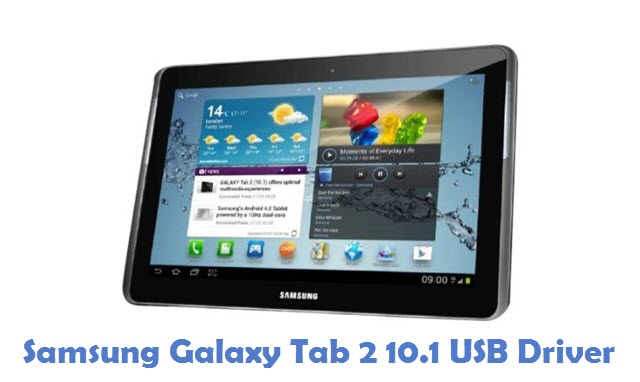 Samsung Galaxy Tab 2 10.1 USB Driver