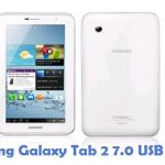 Samsung Galaxy Tab 2 7.0 USB Driver