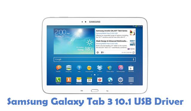 Samsung Galaxy Tab 3 10.1 USB Driver