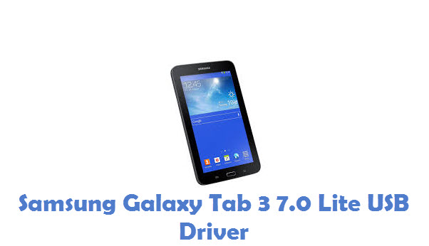 Samsung Galaxy Tab 3 7.0 Lite USB Driver