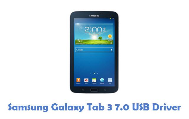 Samsung Galaxy Tab 3 7.0 USB Driver