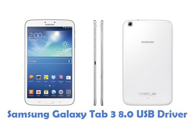 Samsung Galaxy Tab 3 8.0 USB Driver