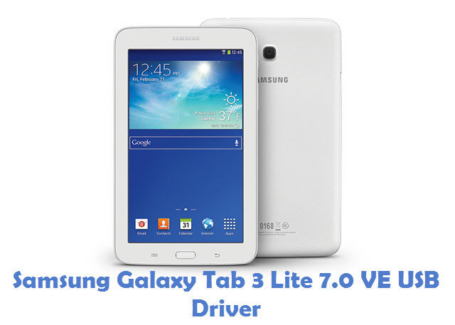 Samsung Galaxy Tab 3 Lite 7.0 VE USB Driver