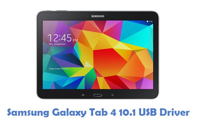 Samsung Galaxy Tab 4 10.1 USB Driver
