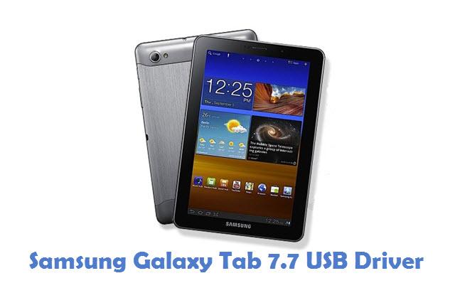 Samsung Galaxy Tab 7.7 USB Driver