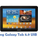 Samsung Galaxy Tab 8.9 USB Driver